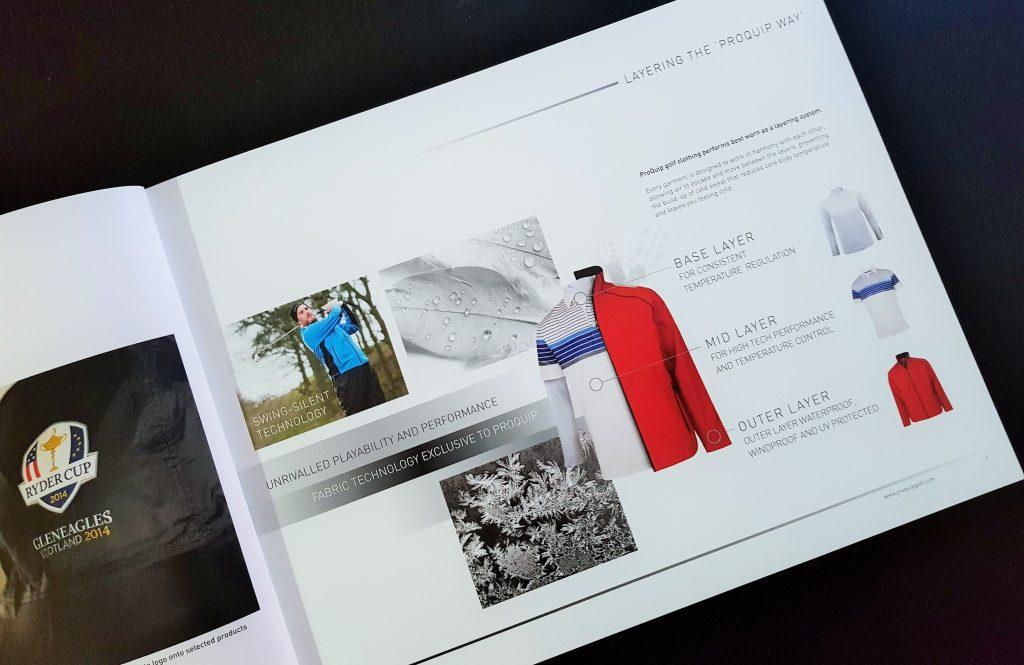 print marketing for golf brands