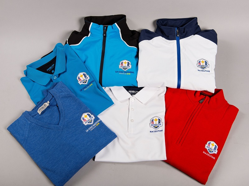 Ryder Cup official clothing by ProQuip