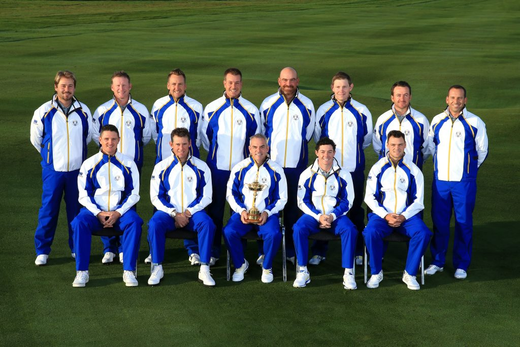 European Team Photocall - 2014 Ryder Cup