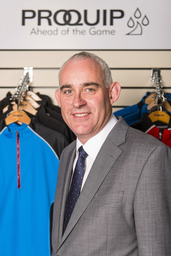 Russell Brooks general manager ProQuip Golf