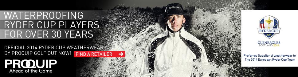 digital advert for ProQuip golf