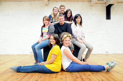young people from NE-Generation - charity sector PR case study