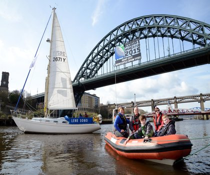 Ocean Youth Trust North launches a new powerboat school in Newcastle