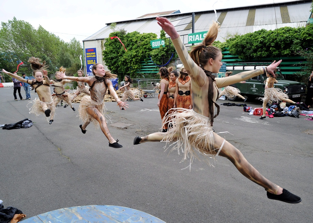 dancers from NE-Generation, charity sector PR case study