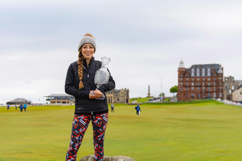 Golf influencer The Jazzy Golfer