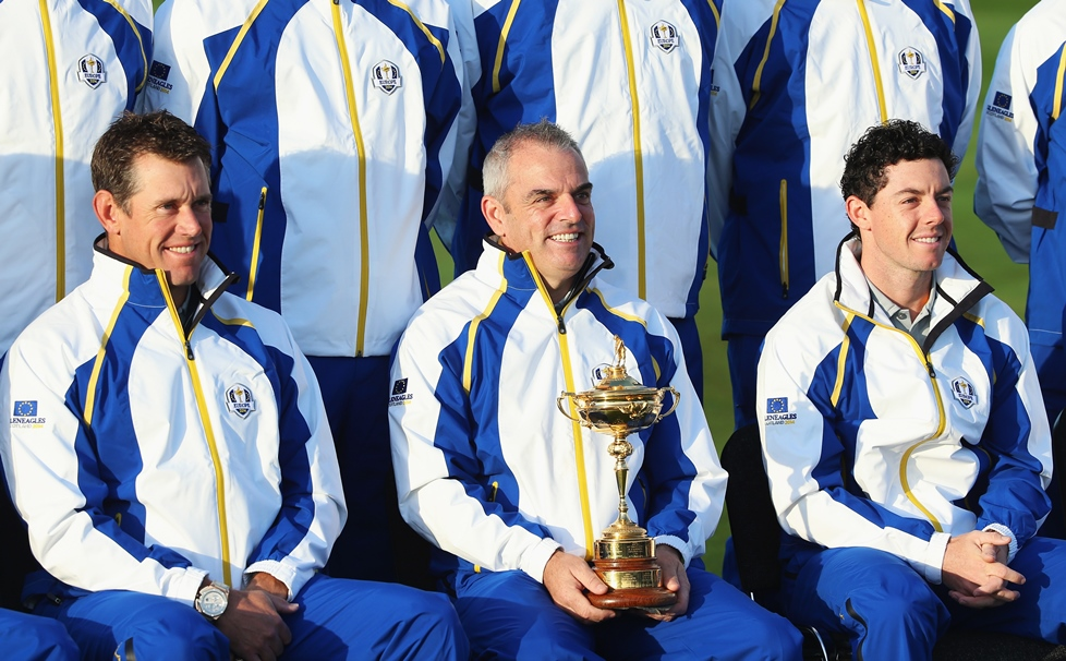 Europe's 2014 Ryder Cup Team